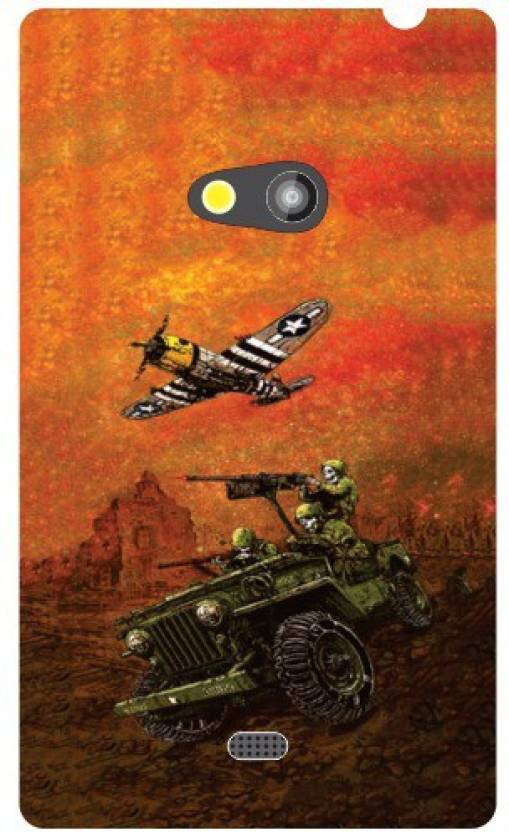 Printland Back Cover for Nokia Lumia 625
