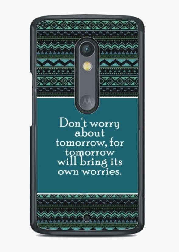 Fuson Back Cover for Motorola Moto X Play