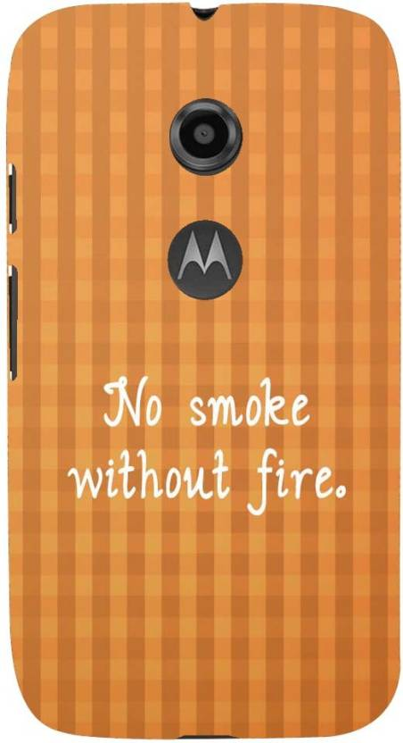 Mobile Makeup Back Cover for Motorola Moto E (2nd Gen)