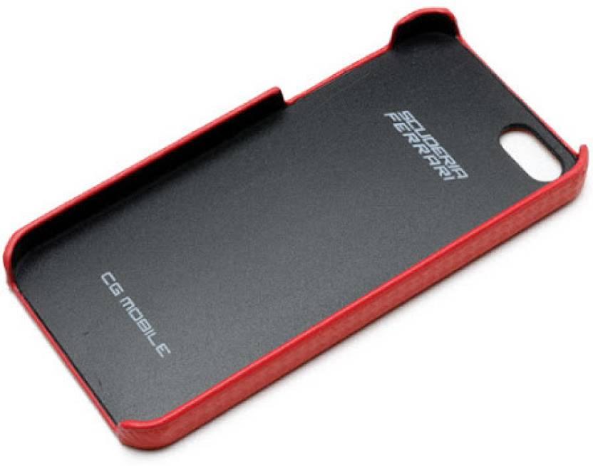 new products 553cc fc93b Ferrari Back Cover for Apple iPhone 5, Apple iPhone 5s, Apple iPhone SE