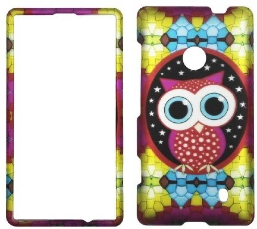 Nokia Back Cover for Nokia Lumia 520 (Multicolor)