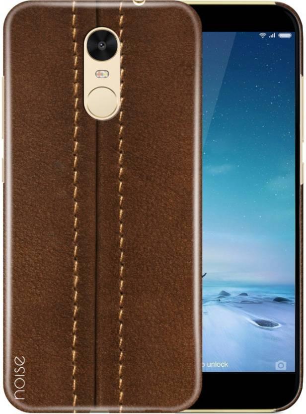 new concept ca073 c9925 Noise Back Cover for Mi Redmi Note 4