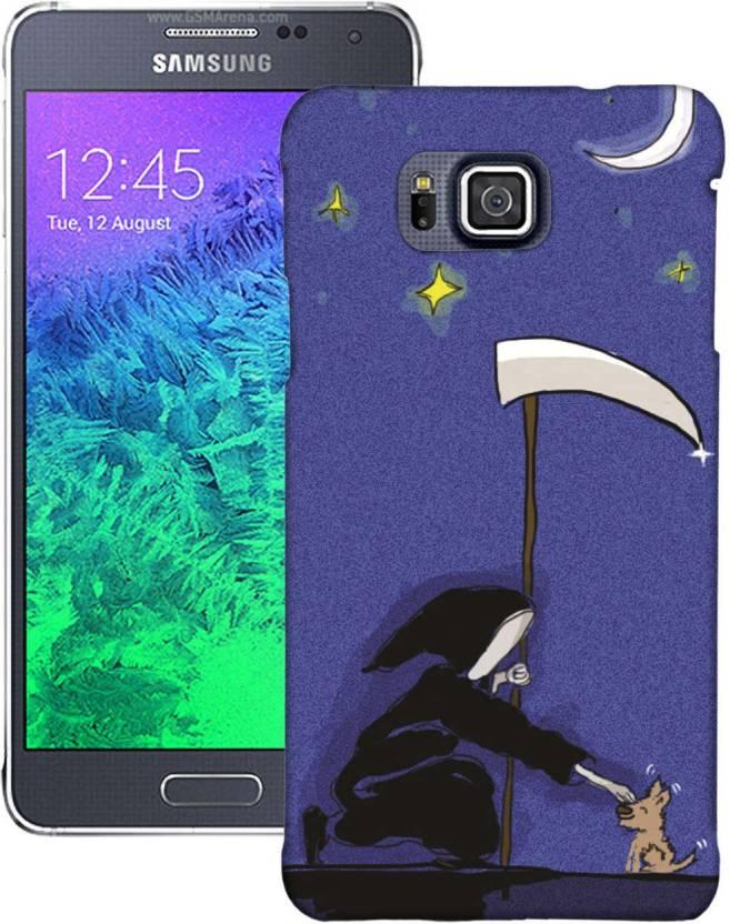 AmerakiDesignHouse Back Cover for Samsung Galaxy Alpha
