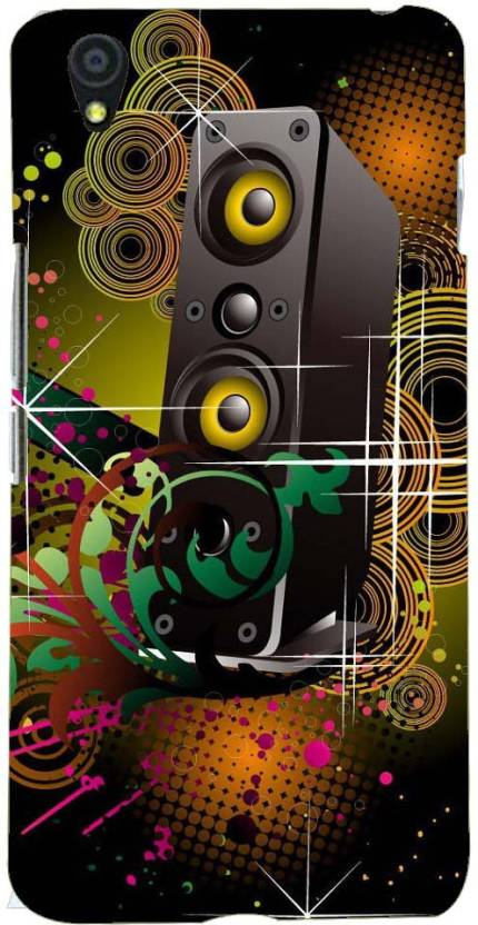Printvisa Back Cover for One Plus x