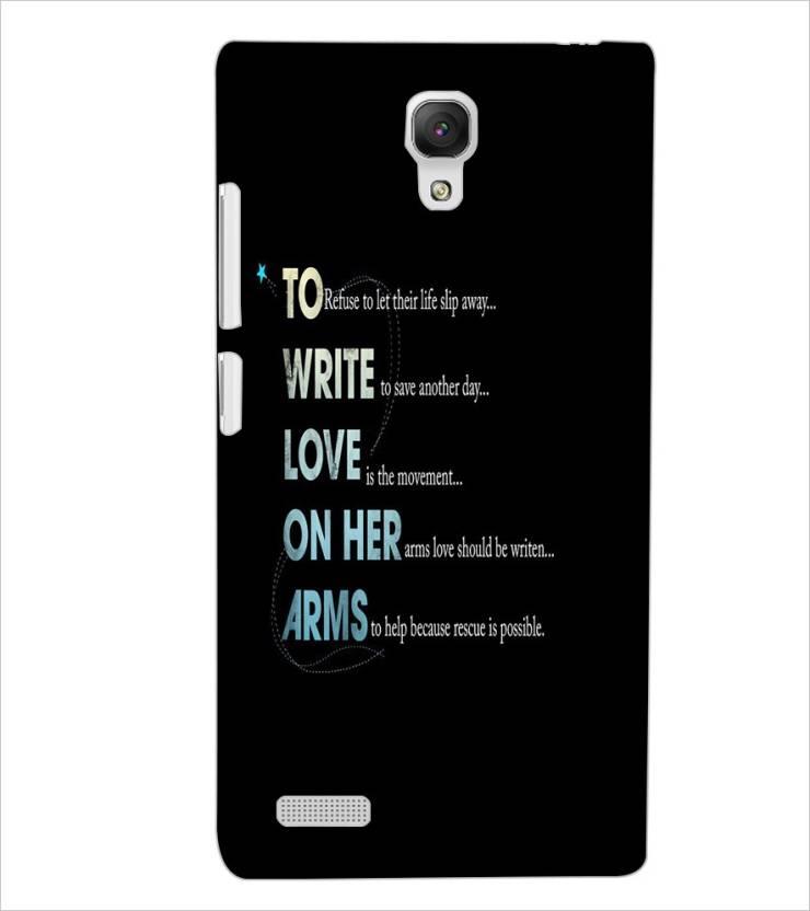 FARROW Back Cover for Xiaomi Redmi Note