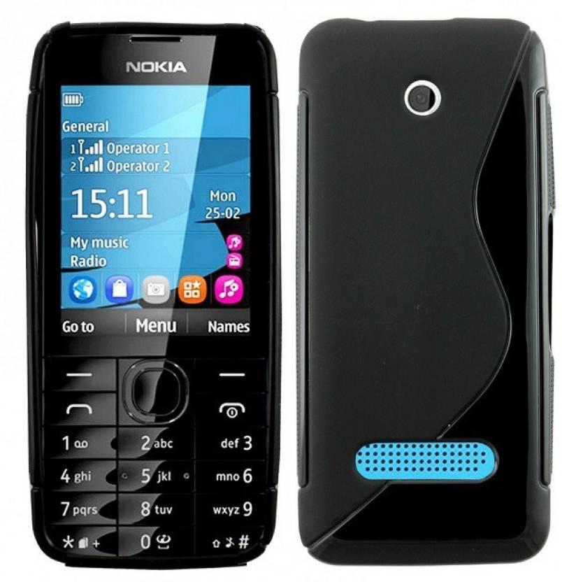 huge discount 0e797 f5d0f Smartchoice Back Cover for Nokia Asha 301