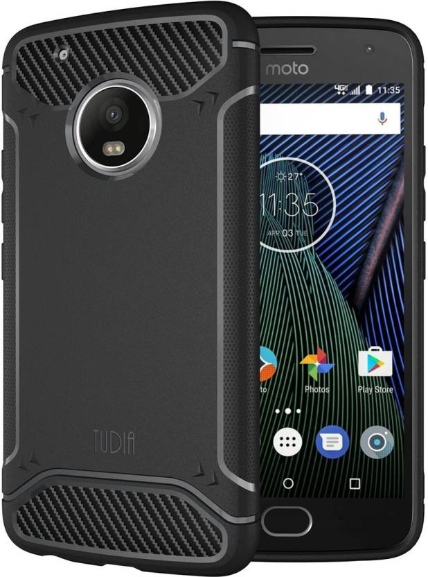 the best attitude 2e147 d7877 Tudia Back Cover for Motorola Moto G5s Plus