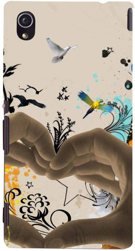Mobile Makeup Back Cover for Sony Xperia M4 Aqua, Sony Xperia M4 Aqua Dual