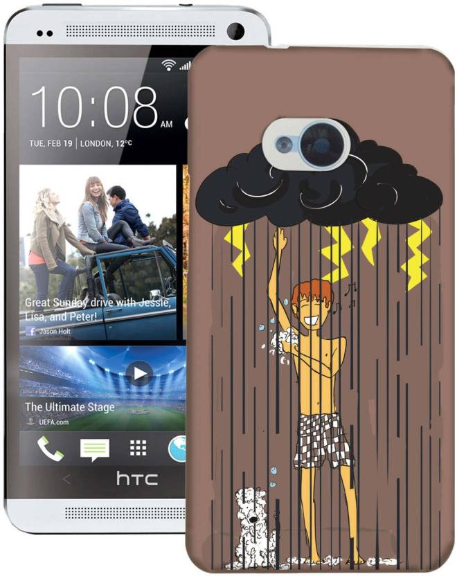 AmerakiDesignHouse Back Cover for HTC One M7 Single Sim