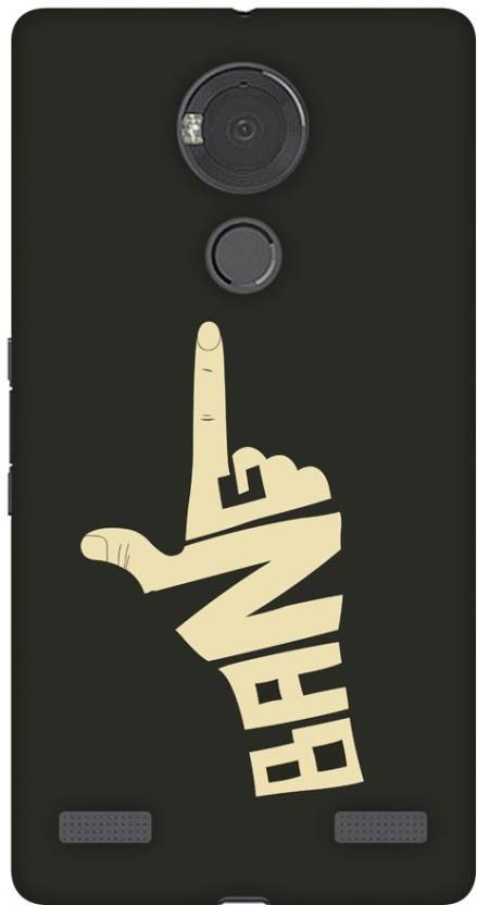 Fasheen Back Cover for Micromax YU Yureka Note