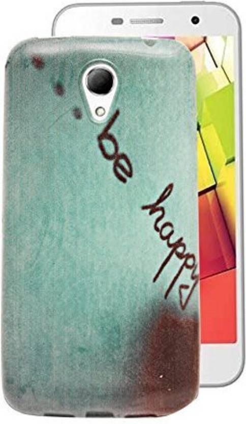 low cost 0fc52 6b650 Gadget Decor Back Cover for INTEX AQUA 4G Plus - Gadget Decor ...