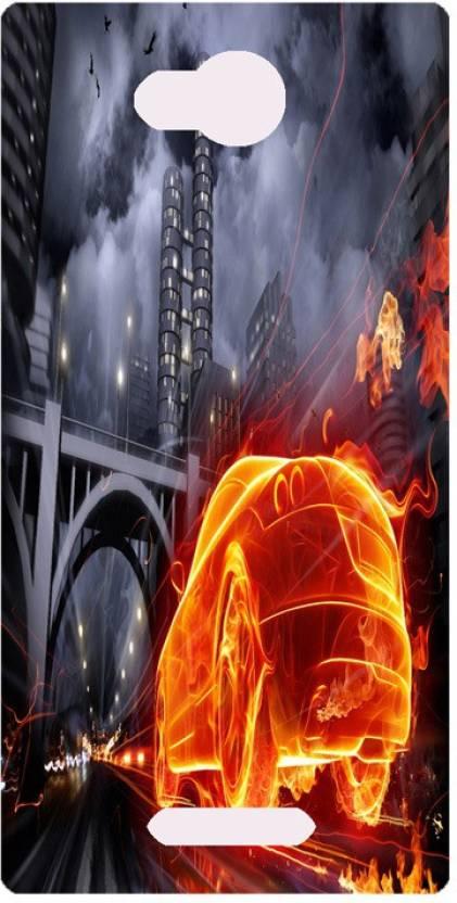 Amagav Back Cover for Lava A59