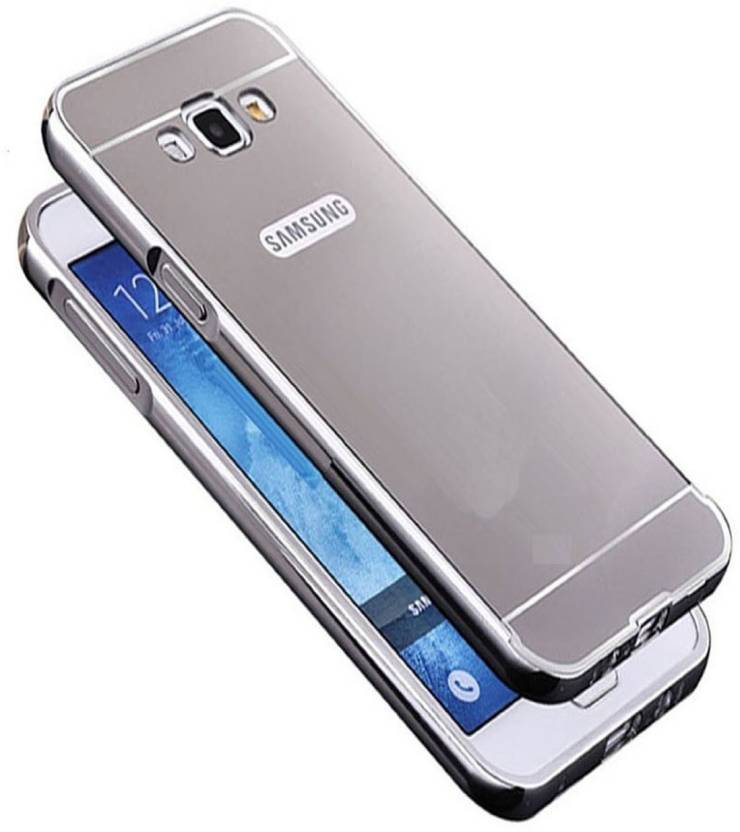 Case.Design Back Cover for Samsung Galaxy on7 Pro (Silver, Plastic)