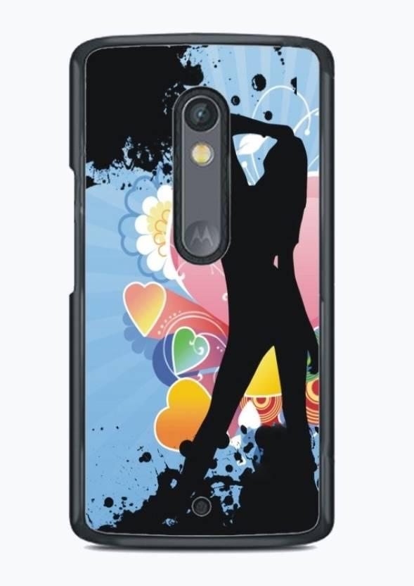Fuson Back Cover for Motorola Moto X Play