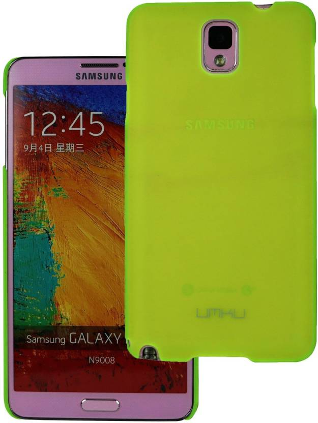 Heartly Back Cover for Samsung Galaxy Note 3 Green