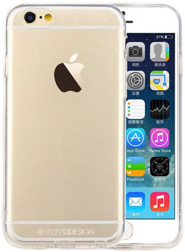 Totu Designs Back Cover For Le Iphone 6 Transpa Rubber