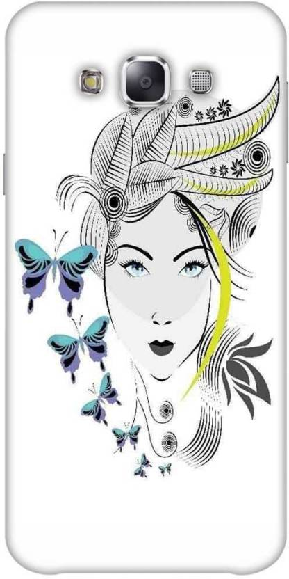 Snoogg Back Cover for SAMSUNG Galaxy E7