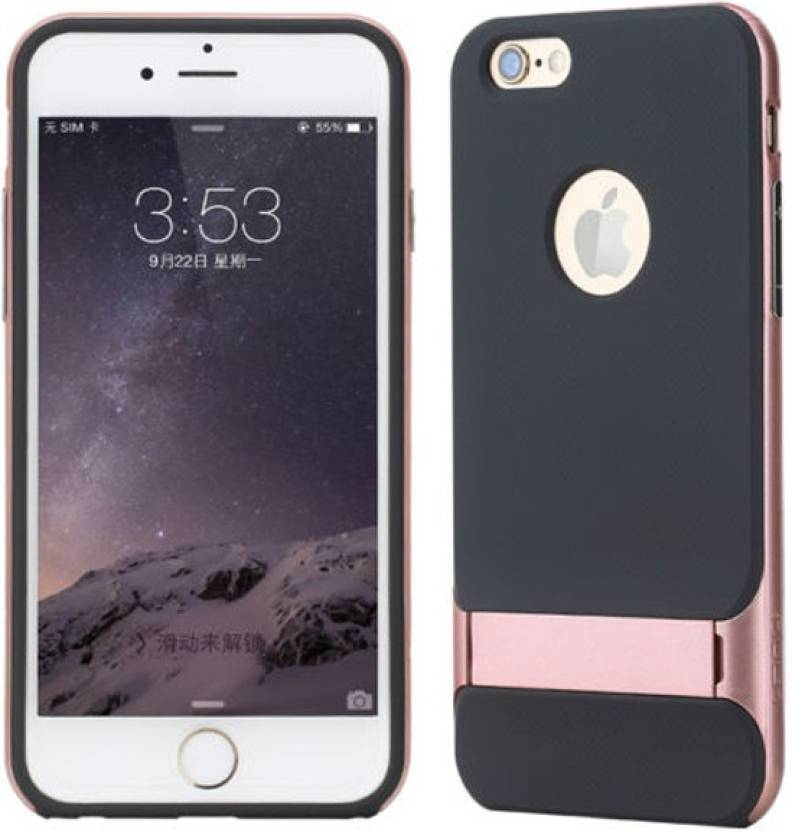 best service 9ca5a 30f41 Rock Back Cover for Apple iPhone 6S Plus Rose Gold