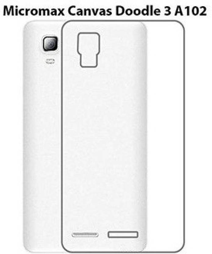 buy online 28df9 c4e2e Micomy Back Cover for Micromax A102 Canvas Doodle 3 - Micomy ...
