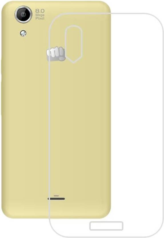 Kolorfame Back Cover for Micromax Q340 Selfie 2