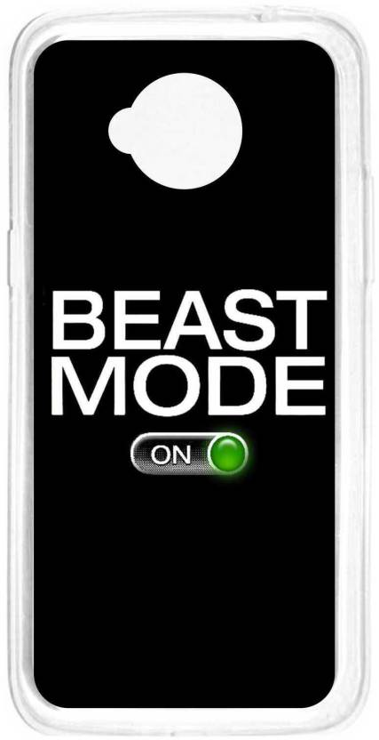 Anger Beast Back Cover for Motorola Moto E (2nd Gen)