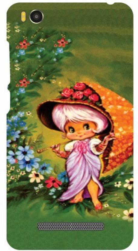 Printland Back Cover for Xiaomi Mi4i MZB4300IN