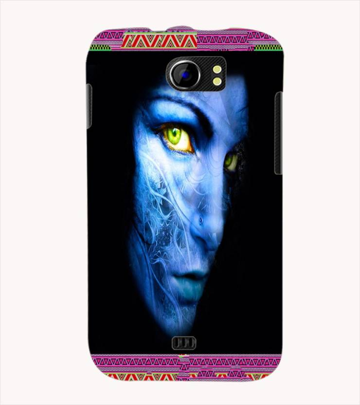 Farrow Back Cover for Micromax A110 Canvas 2