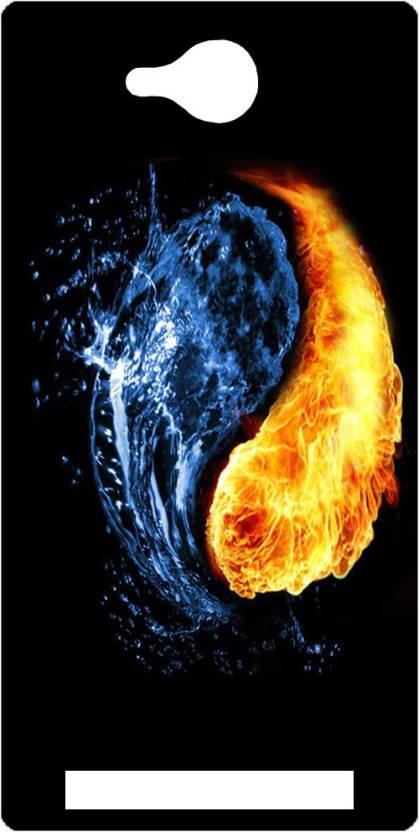 Ganesham Back Cover for Lava FLAIR Z1