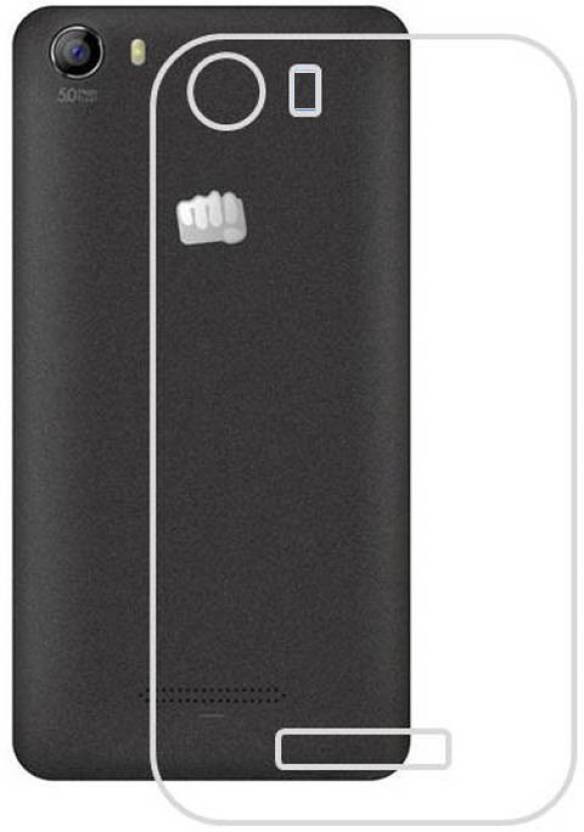 Ifra Back Cover for Transparent Back Cover For Micromax Canvas Spark 2 Q334 3G Dual Sim.