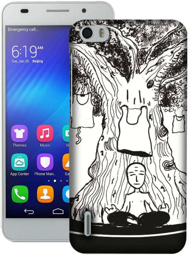 AmerakiDesignHouse Back Cover for Huawei Honor 6