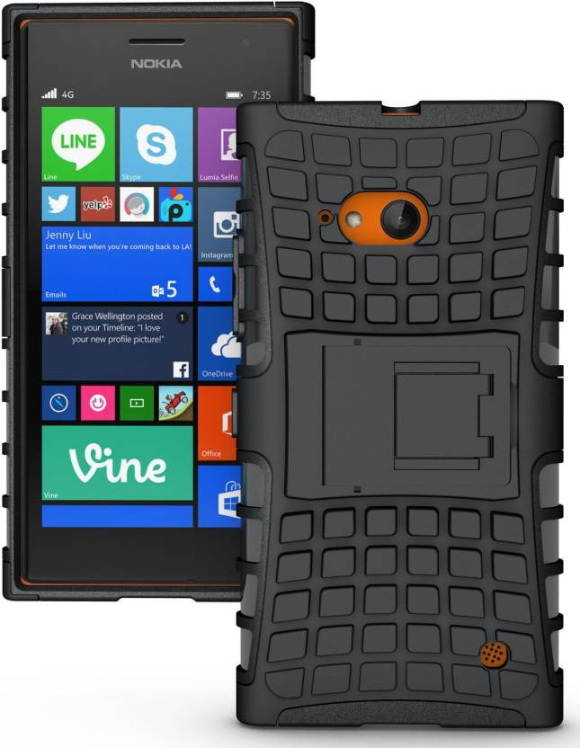 sneakers for cheap bc491 26a25 Zouk Back Cover for Nokia Lumia 730 Dual SIM