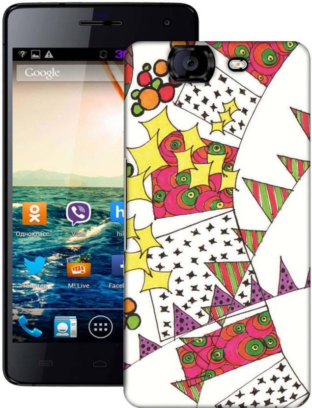 AmerakiDesignHouse Back Cover for Micromax A350 Canvas Knight
