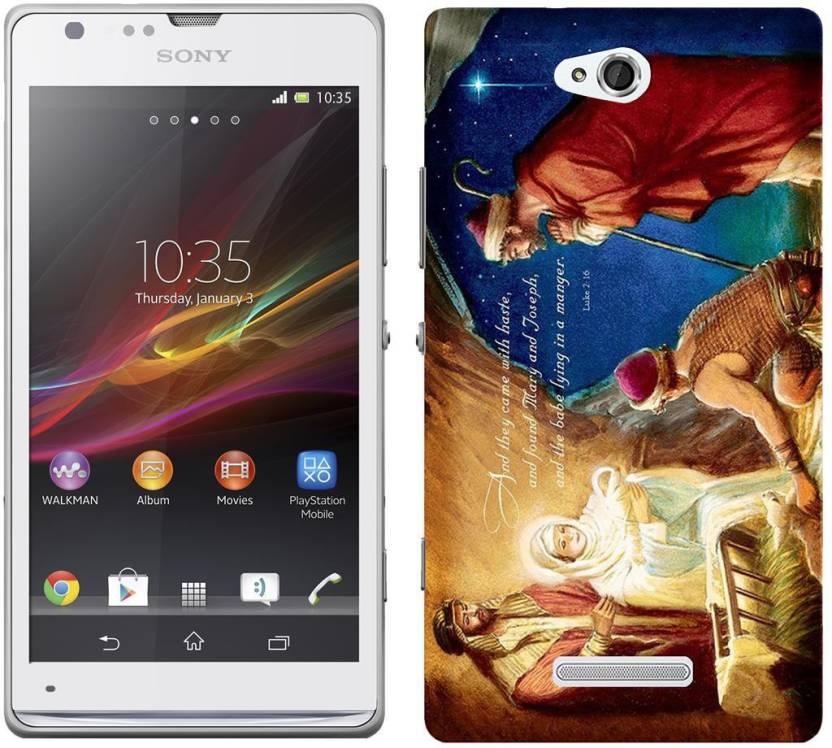 official photos 26ea0 a8633 Wow Back Cover for Sony Xperia C C2305 - Wow : Flipkart.com