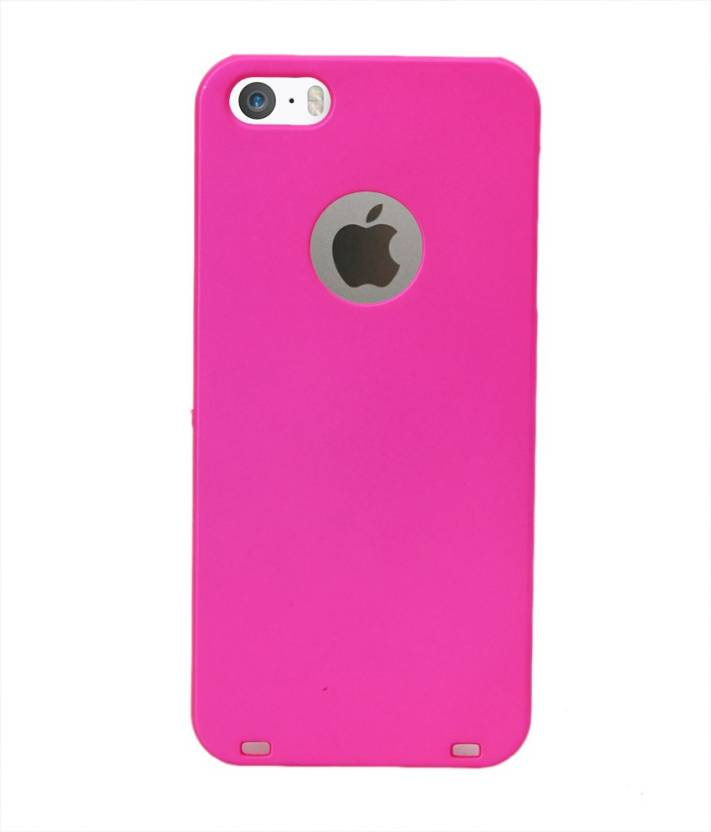 COVERNEW Back Cover for Apple iPhone 5s Dark Pink