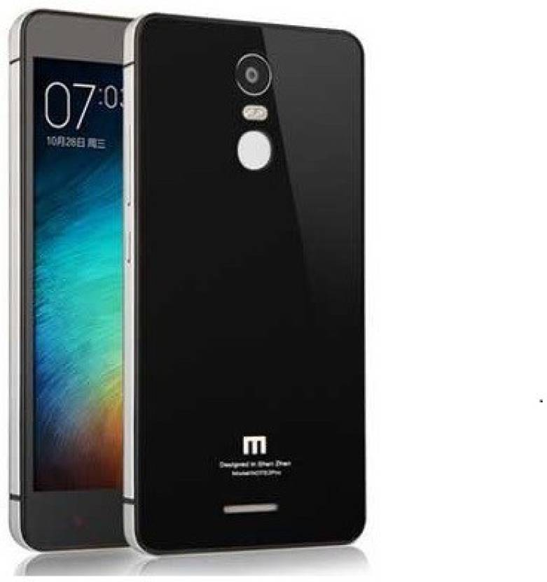 MPE Back Replacement Cover for Mi Redmi Note 3 (Black, Silver, Metal)