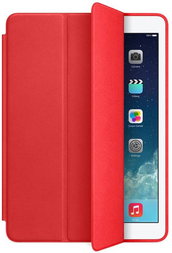 ikobucket Book Cover for Apple iPad Mini 4 Red