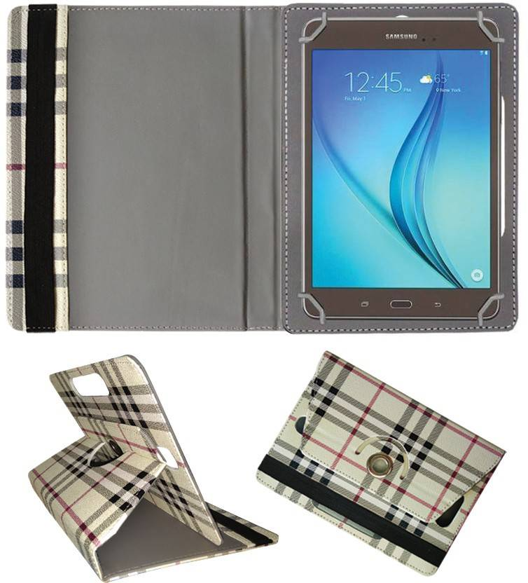 Fastway Book Cover for Samsung Galaxy Tab A Plus 8.0 S Pen Cream