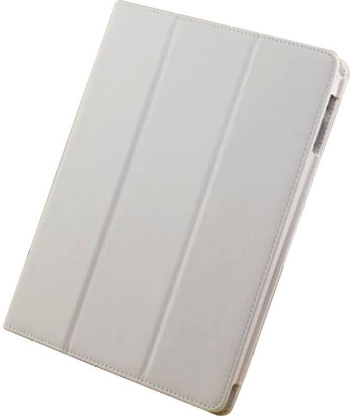 KolorFish Book Cover for Apple iPad 2, 4, 3 White