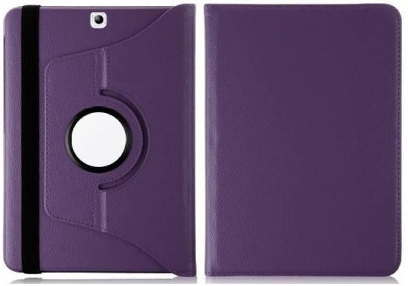 TGK Book Cover for Samsung Galaxy Tab S2 8.0 Inch SM T710 Purple