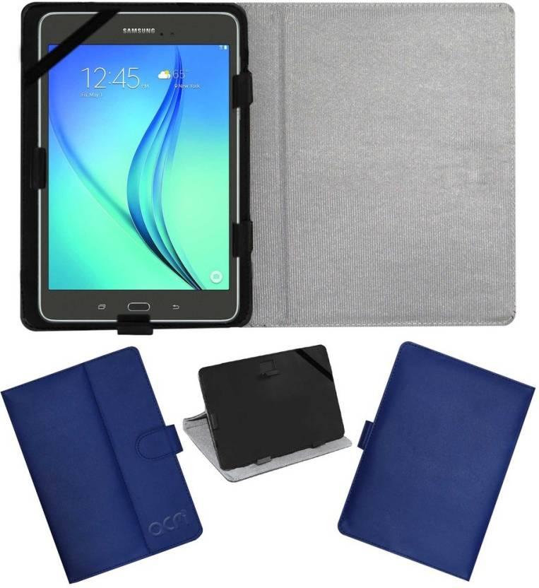 ACM Book Cover for Samsung Tab A Sm T355yzwa Blue
