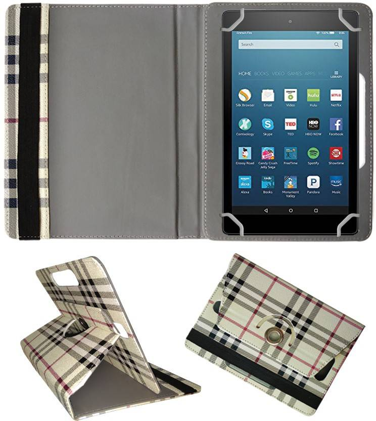 wholesale dealer 7c148 98ae3 Fastway Book Cover for Amazon Fire HD 8 Tablet