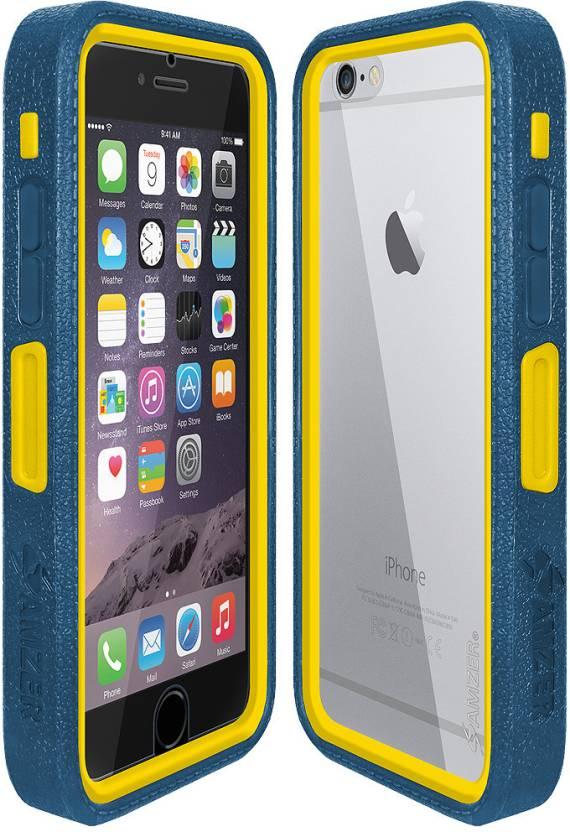 b07c752c9e Amzer Bumper Case for Apple iPhone 6 Plus, Apple iPhone 6S Plus  (Multicolor, Rubber, Plastic)