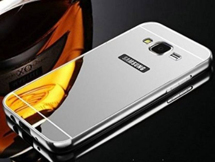 DEV Back Cover for Metal Bumper + Back Fusion Case Cover for Samsung Galaxy A7(2016) (Silver, Metal)