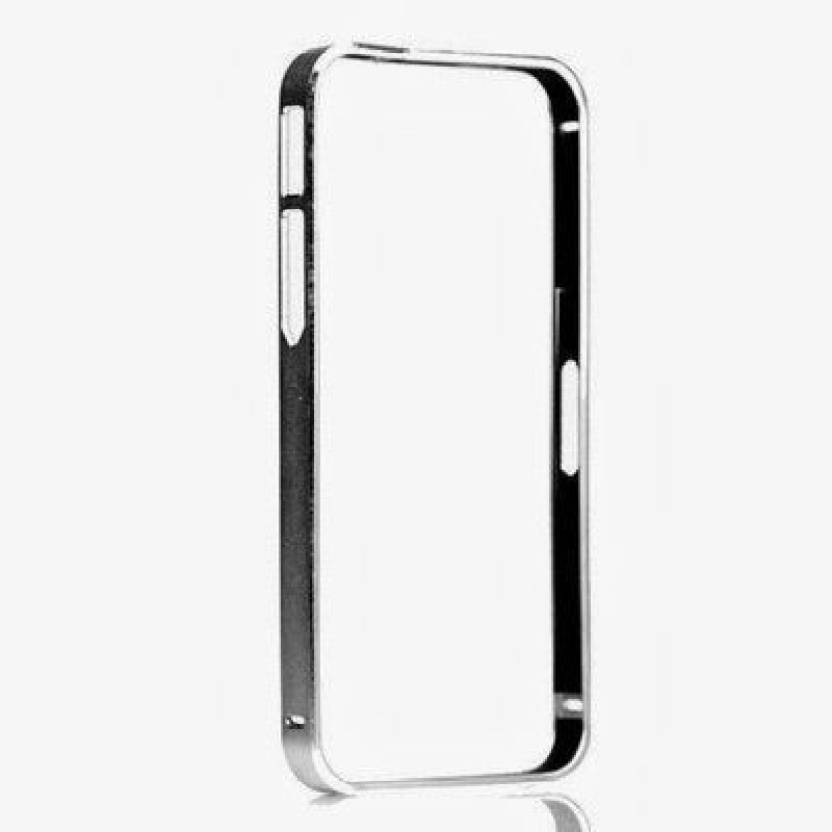 Securemob Bumper Case for Samsung Galaxy J2 J200 (Silver)