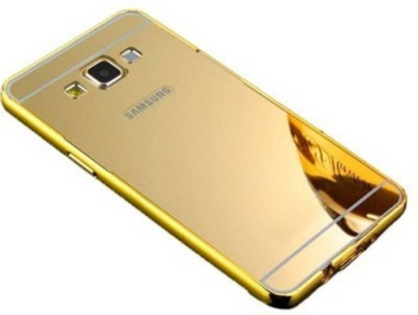the best attitude 6fe77 d76f2 MobileCrazy Bumper Case for Back Cover for Samsung Galaxy Note 3(Gold)