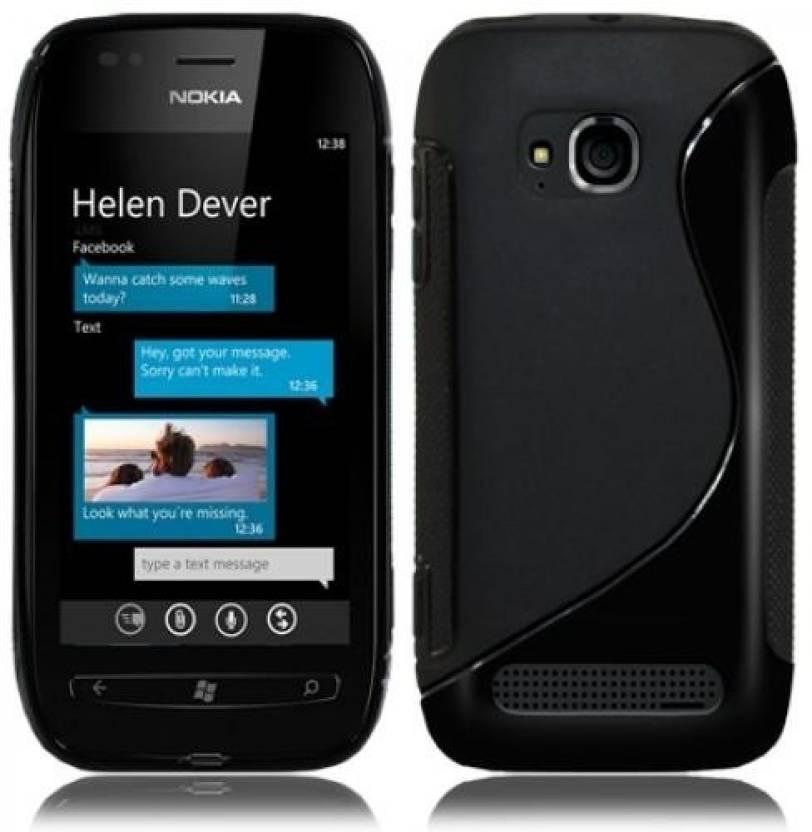 competitive price 81679 f6e3b Stylish Back Cover for Nokia Lumia 710 - Stylish : Flipkart.com