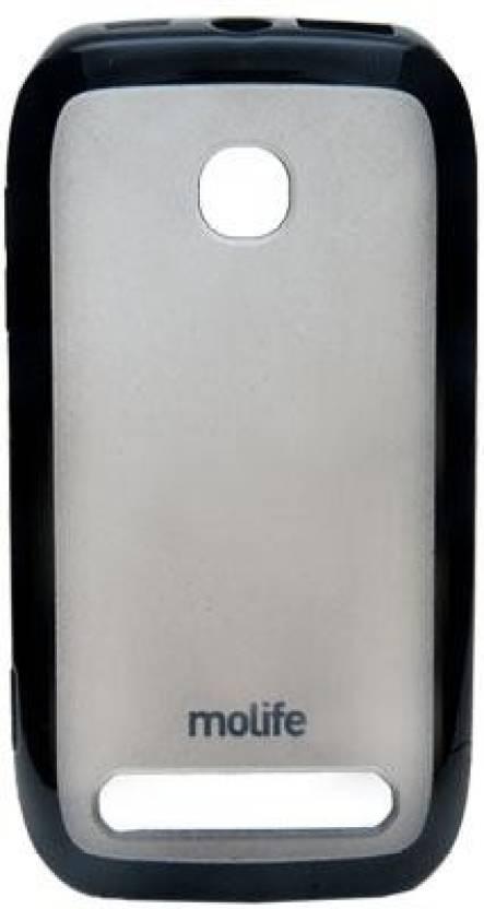 huge discount eb8fa 25e0c Molife Back Cover for Nokia 603