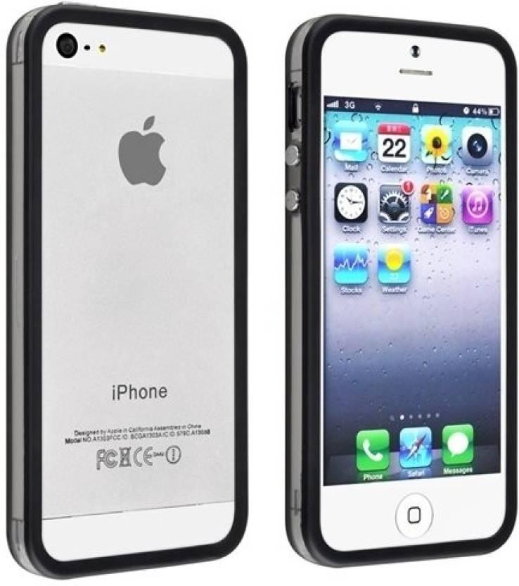 super popular a3a9a 76a15 Casotec Bumper Case for Apple iPhone 5, Apple iPhone 5s, Apple iPhone SE