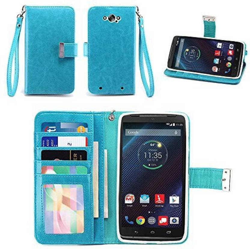 IZENGATE Flip Cover for Motorola droid turbo