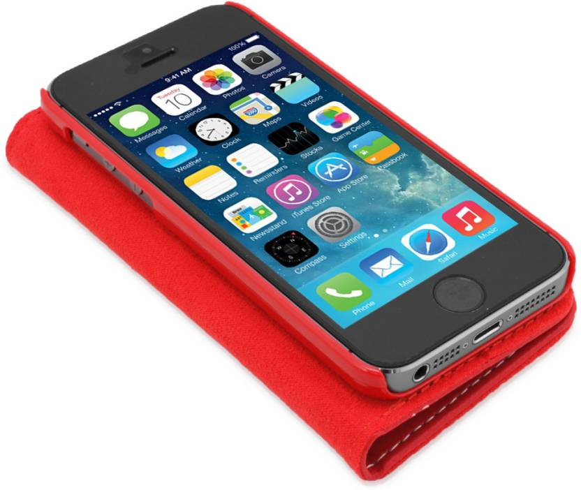 buy online a9b34 1680b Snugg India Flip Cover for iPhone 5, 5s - Snugg India : Flipkart.com